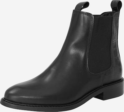 EDITED Chelsea boots 'Aida' i svart, Produktvy