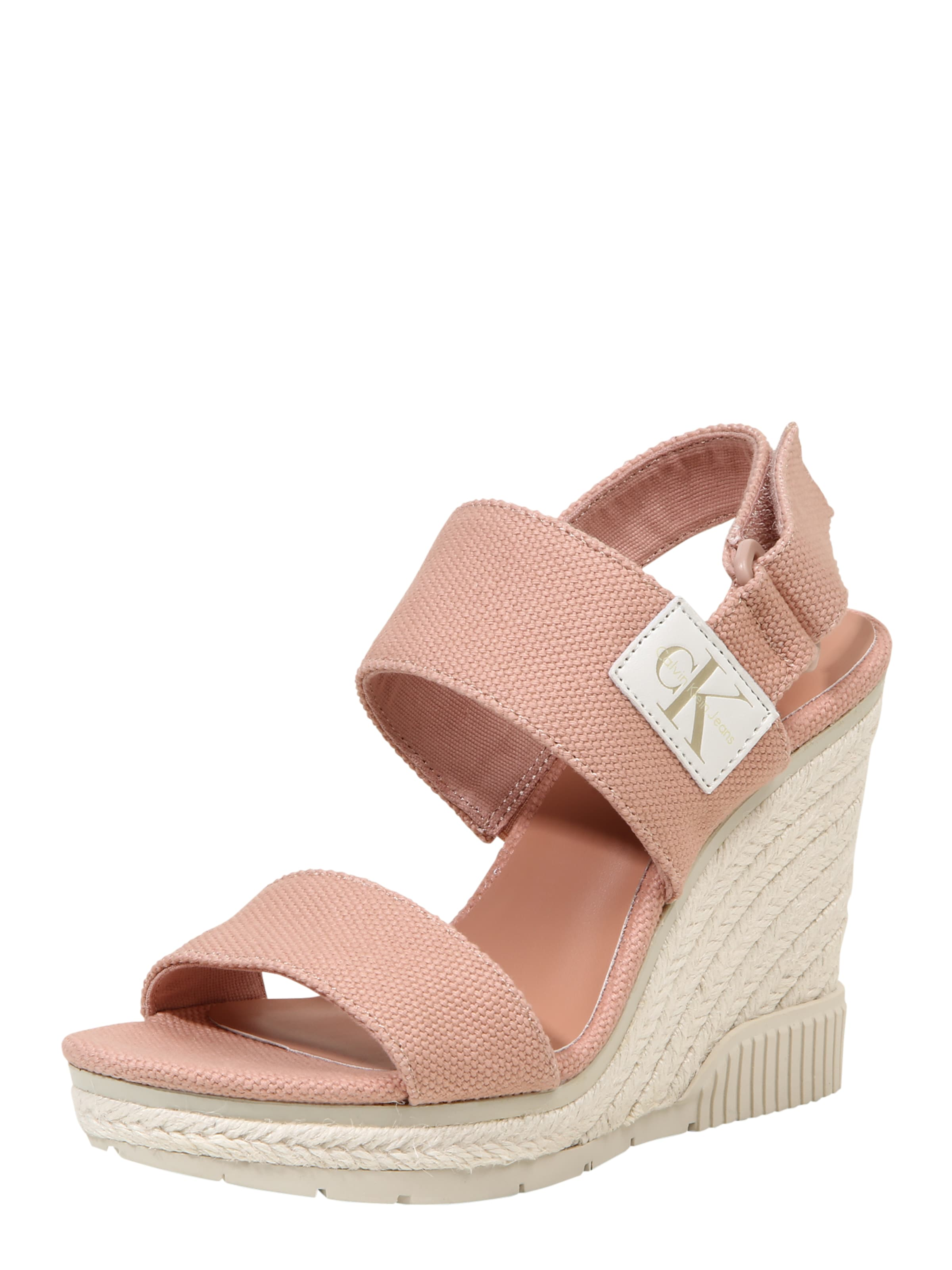 Calvin Klein Jeans | Keilsandale 'LACEY' Schuhe Gut getragene Schuhe