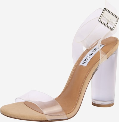 Sandalo con cinturino 'CLEARER' STEVE MADDEN di colore beige / trasparente, Visualizzazione prodotti