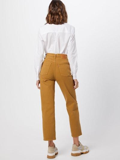 LEVI'S Jeansy 'RIBCAGE' w kolorze szafranowym: Widok od tyłu