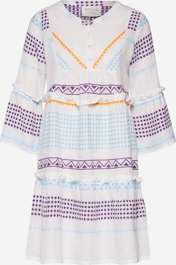 Cecilie Copenhagen Avondjurk 'Jadis' in de kleur Blauw / Wit, Productweergave