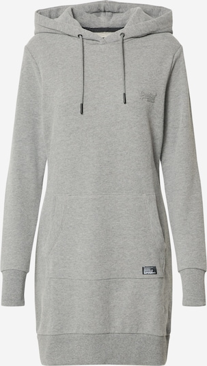 Superdry Sweatkleid in anthrazit, Produktansicht