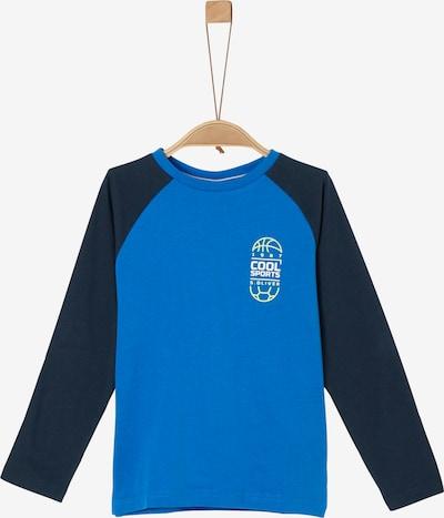 s.Oliver Langarmshirt in blau / navy, Produktansicht