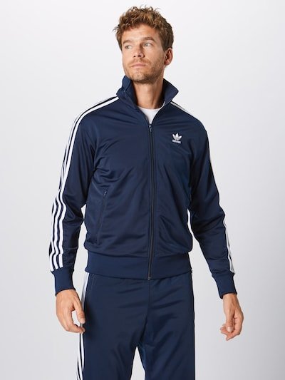 ADIDAS ORIGINALS Sweatjacke 'Firebird' in navy, Produktansicht