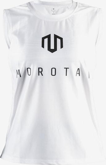 MOROTAI Sport-Top in schwarz / weiß, Produktansicht