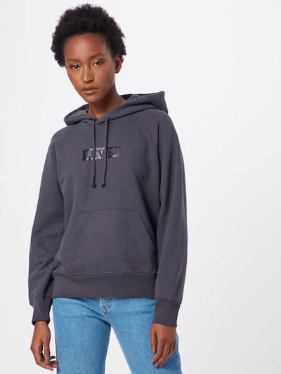 LEVI'S Sweatshirt 'GRAPHIC' in anthrazit: Frontalansicht