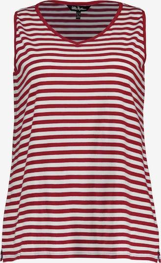 Ulla Popken T-shirt en rouge, Vue avec produit