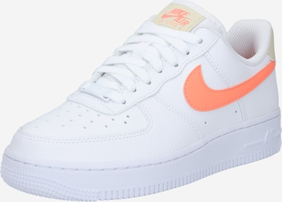 Nike Sportswear Sneaker 'Air Force 1' in neonorange / weiß, Produktansicht