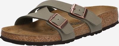 BIRKENSTOCK Pantolette 'Yao' in stone, Produktansicht