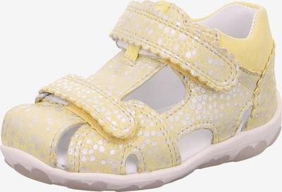SUPERFIT Sandale 'FANNI' in gelb, Produktansicht