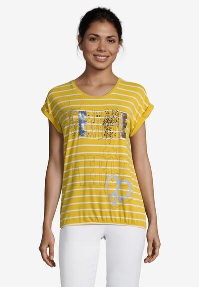 Betty Barclay Shirt in gelb / silber / weiß: Frontalansicht