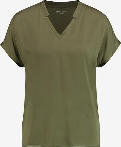 GERRY WEBER T-Shirt 1/2 Arm Blusenshirt mit V-Ausschnitt in grün, Produktansicht