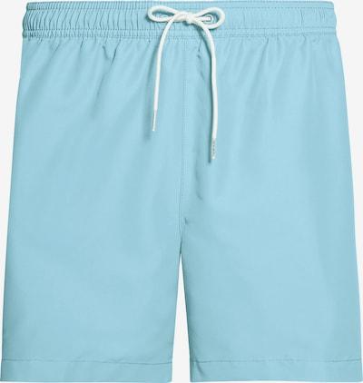 Calvin Klein Swimwear Badeshorts mit Tunnelzug 'Core Logo Tape' in hellblau, Produktansicht