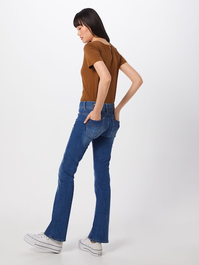 G-Star RAW Jean 'Midge' en bleu denim: Vue de dos