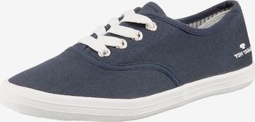 Sneaker low de la TOM TAILOR pe albastru