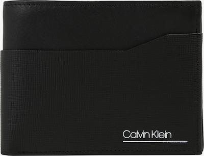 Calvin Klein Geldbörse 'CK SLIVERED 5CC COIN' in schwarz, Produktansicht
