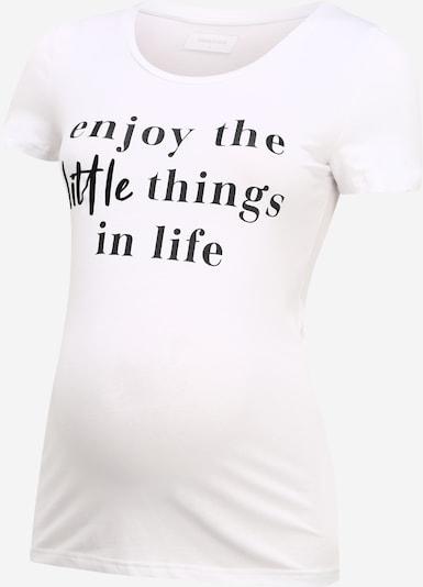 MAMALICIOUS Koszulka 'ANORA' w kolorze czarny / białym, Podgląd produktu