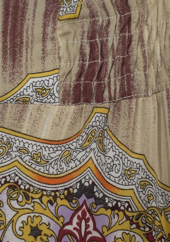BUFFALO Strandhose mit Ethnodruck