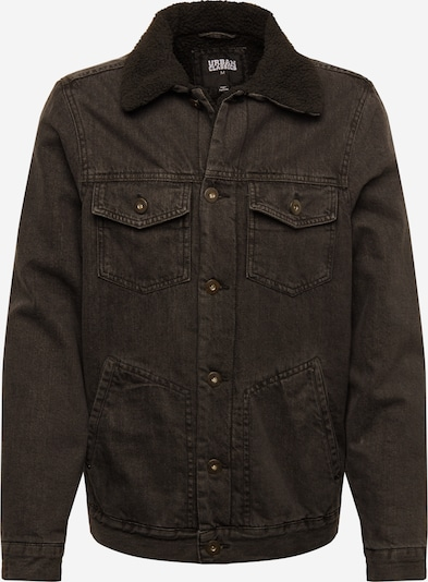 Urban Classics Jacke 'Sherpa Lined' in schwarz, Produktansicht