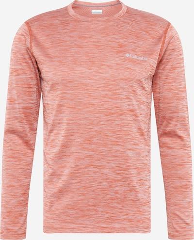 COLUMBIA Funkcionalna majica 'Zero Rules' | pegasto rdeča barva, Prikaz izdelka