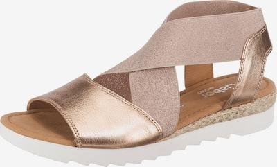 GABOR Sandale in rosegold, Produktansicht