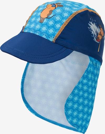 PLAYSHOES Mütze mit UV Schutz 'MAUS' in blau, Produktansicht