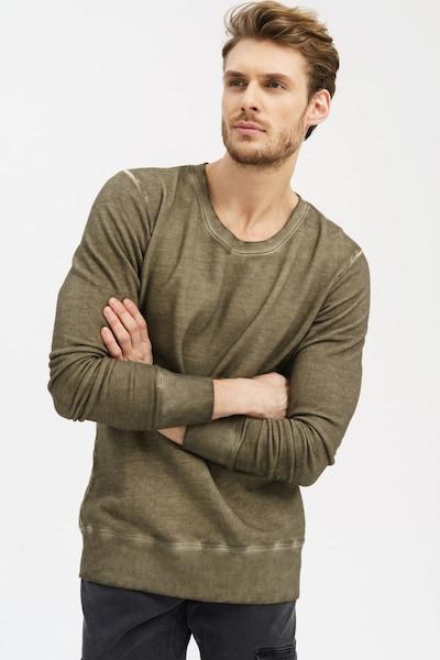 trueprodigy Sweatshirt 'Hodor' in khaki, Produktansicht