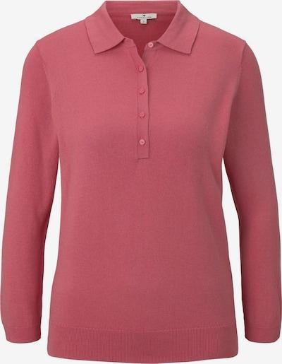 TOM TAILOR Pullover & Strickjacken Pullover mit Polokragen in pink, Produktansicht