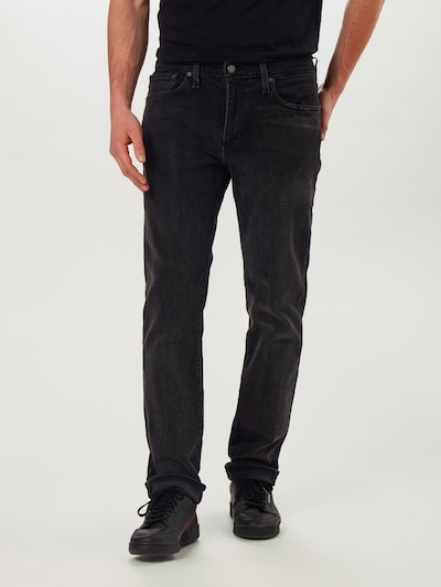 LEVI'S Jeans '511' in black denim, Modelansicht