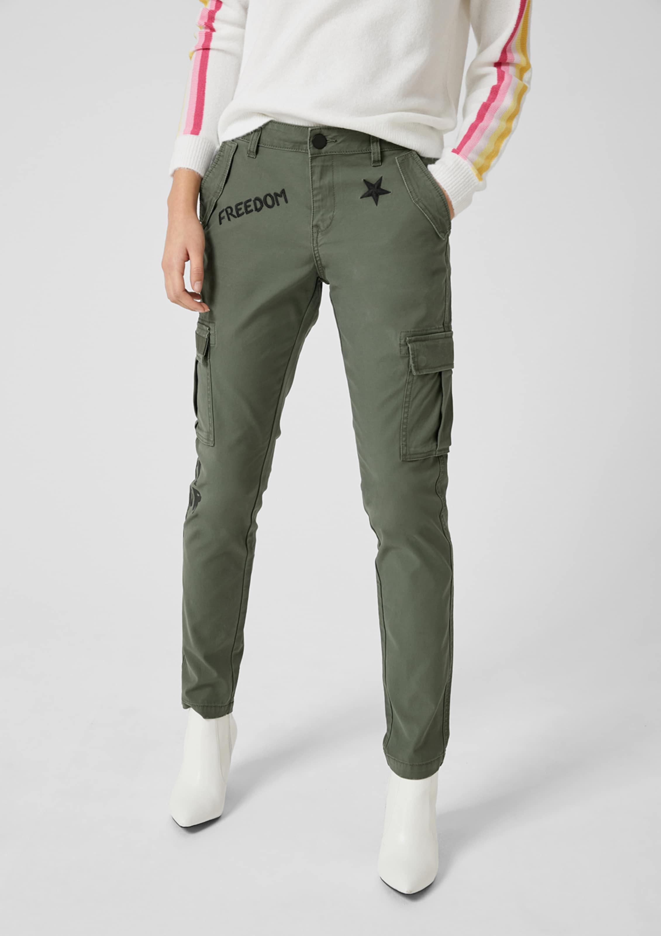 Q Cargohose Designed 'gwen' Khaki s By In m0O8nvwN
