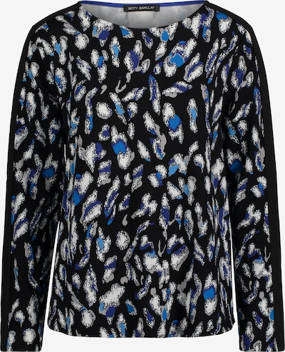 Betty Barclay Sweatshirt mit Leoprint in blau / schwarz, Produktansicht