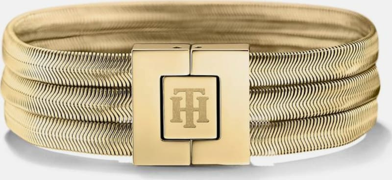 TOMMY HILFIGER Armband 'Classic Signature, 2700976'
