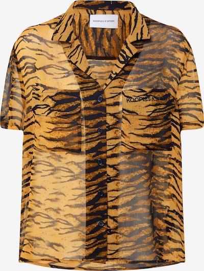 THE KOOPLES SPORT Bluse in braun / schwarz, Produktansicht