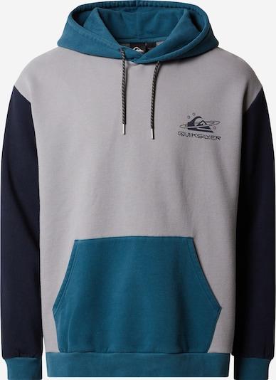 QUIKSILVER Sportovní mikina - šedá / zelená / černá, Produkt