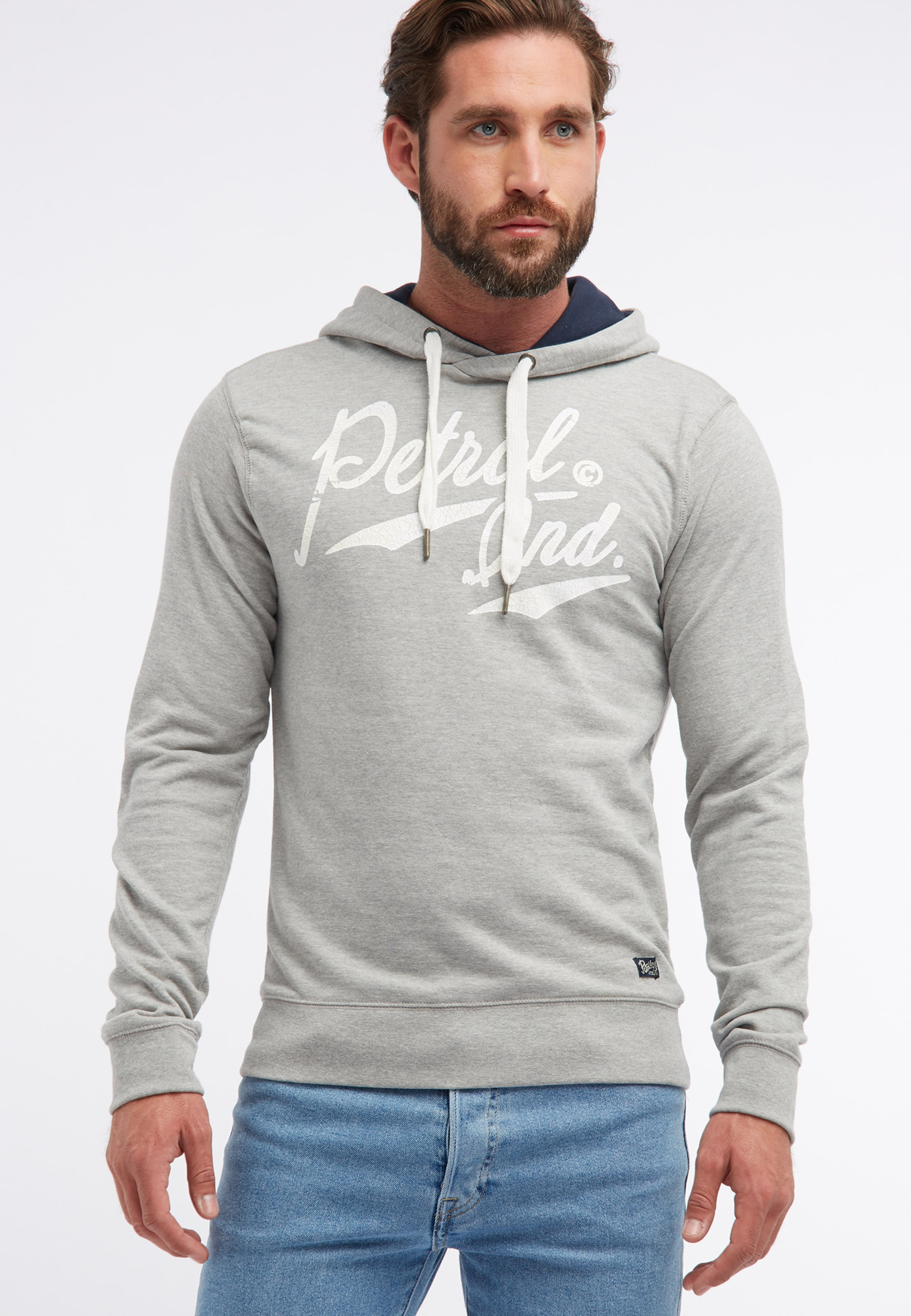 Petrol Industries Grau Petrol In Industries In Sweatshirt Petrol Grau Industries Sweatshirt vw0m8Nn