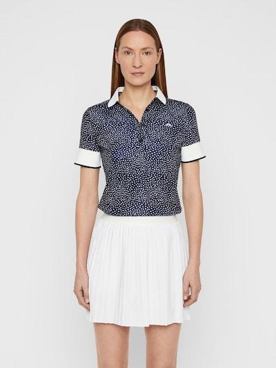 J.Lindeberg Lexie Poloshirt in blau: Frontalansicht