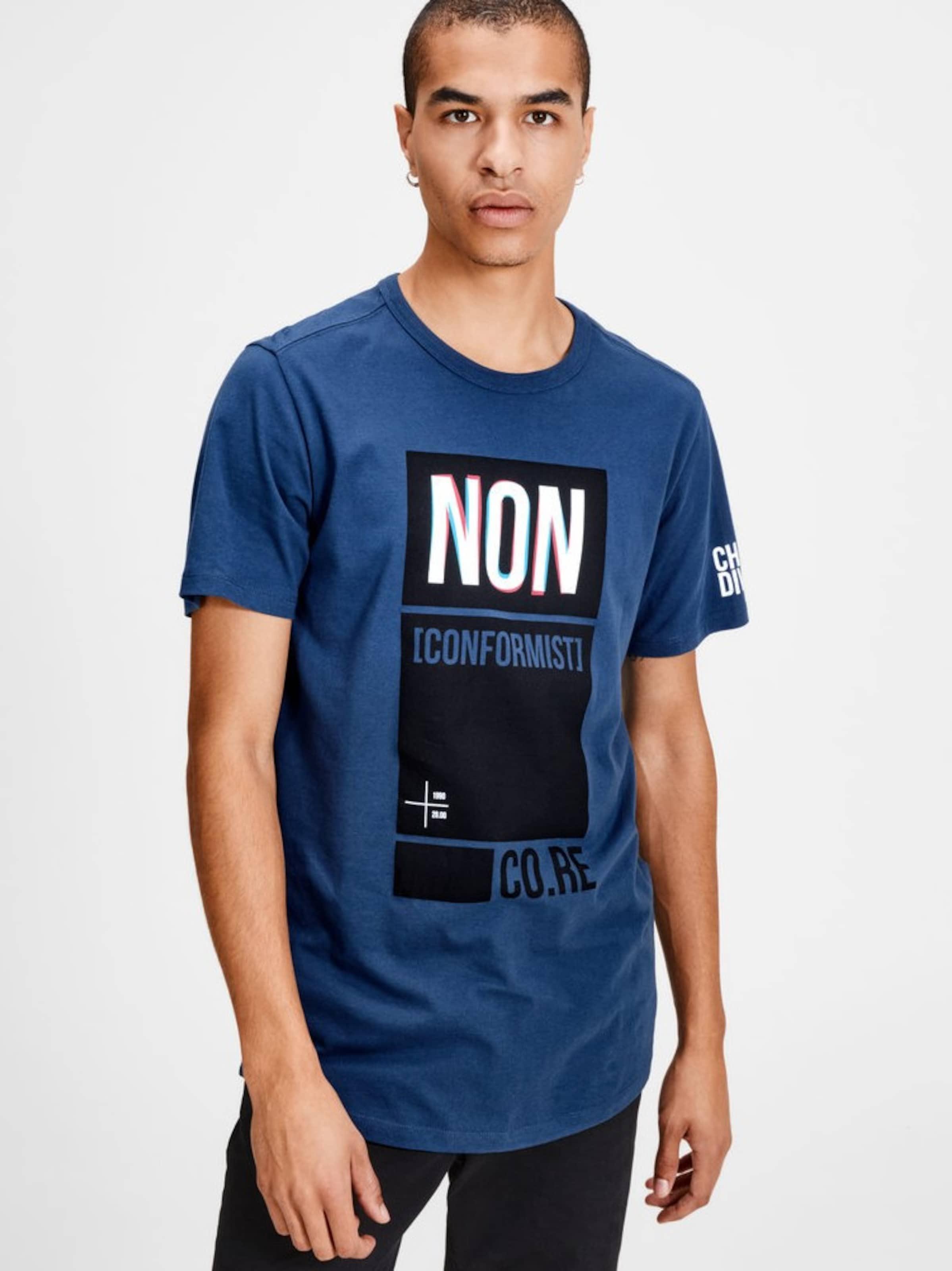JACK & JONES T-Shirt Grafik Outlet-Store FRNGUFzXsu