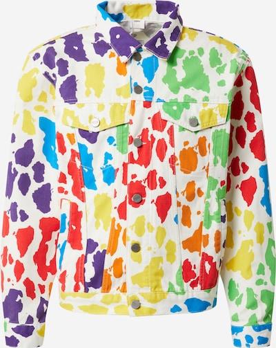 ABOUT YOU x Riccardo Simonetti Prechodná bunda - modré / zelená / červené, Produkt