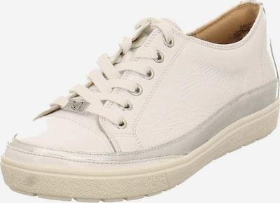 CAPRICE Sneaker in silber / weiß, Produktansicht