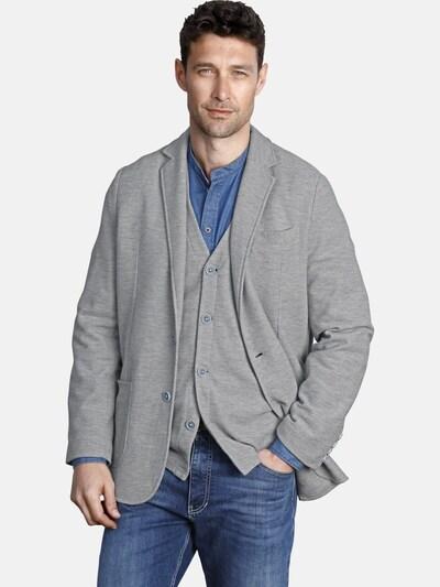 Jan Vanderstorm Veste de costume 'Hellfried' en bleu / gris: Vue de face
