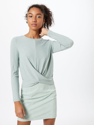 PIECES Shirt in mint: Frontalansicht