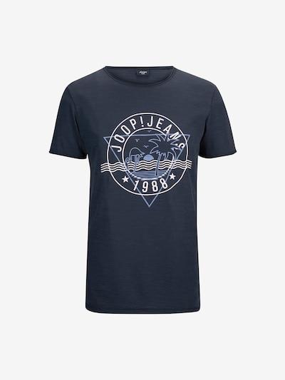 JOOP! Jeans T-Shirt ' Carlito ' in blau / weiß, Produktansicht