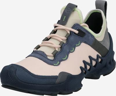ECCO Buty sznurowane w kolorze beżowy / niebieski / różowy pudrowym, Podgląd produktu