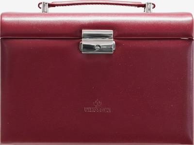 WINDROSE Sieraden-bewaring 'Merino' in de kleur Rood, Productweergave