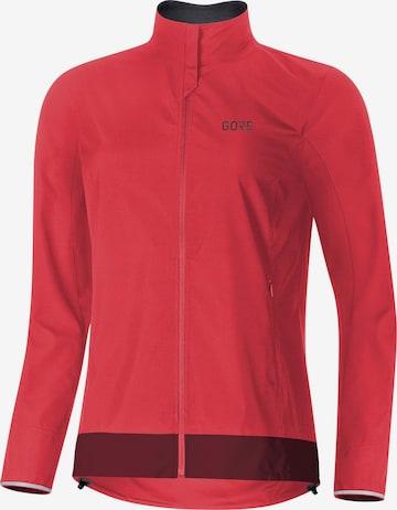 GORE WEAR Athletic Jacket 'C3 Damen GORE® WINDSTOPPER' in Pink