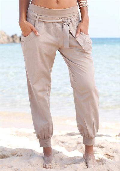 BUFFALO Strandhose in dunkelbeige, Modelansicht
