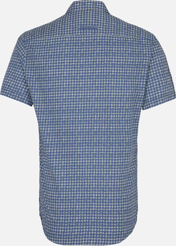 CAMEL ACTIVE ACTIVE ACTIVE Hemd in royalblau   pastellgelb  Bequem und günstig 8ffa5e