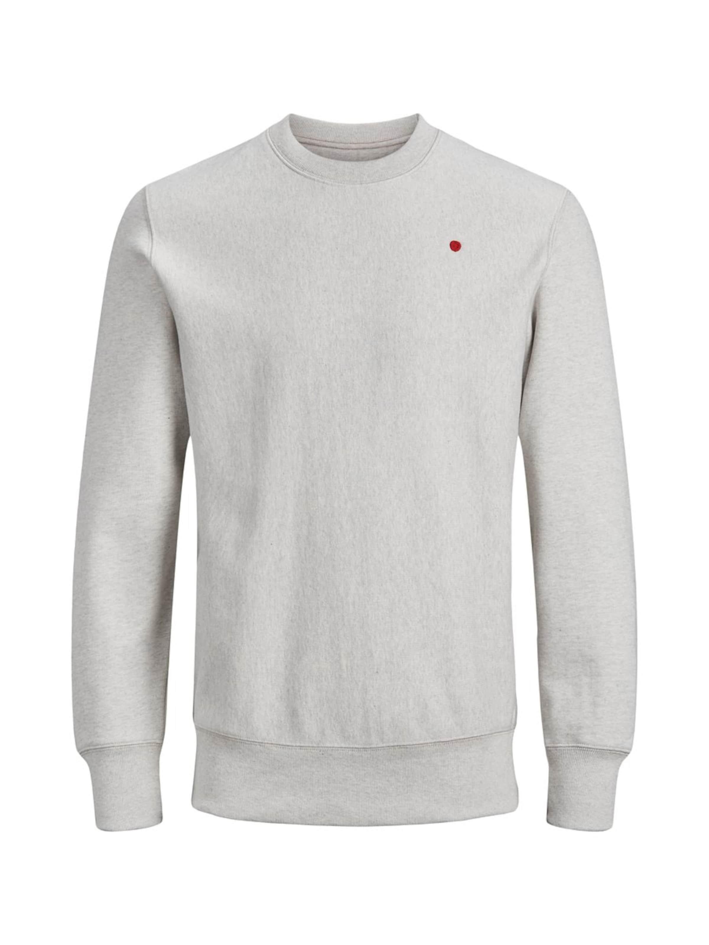 En shirt Jackamp; Jones ChinéBlanc Sweat Gris XZOPTiwku
