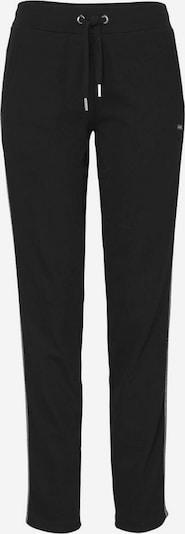 BENCH Pants in schwarz / silber, Produktansicht