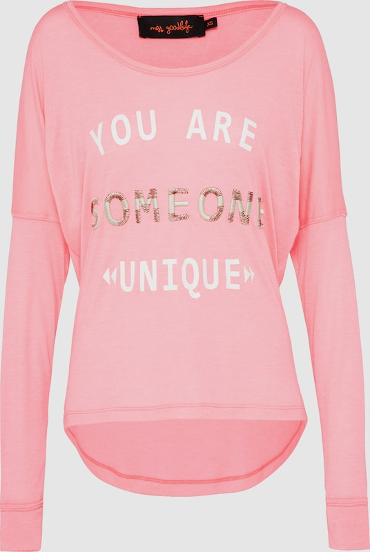 miss goodlife Shirt 'You are someone'